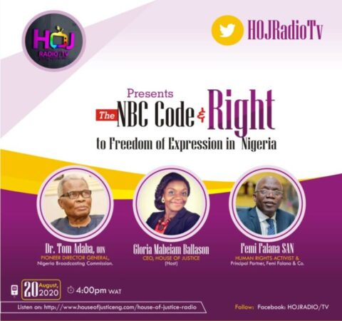 The NBC Code And Right To Freedom Of Expression In NIgeria